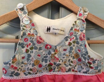 Babies jumpsuit in Liberty of London fabric, large choice of fabrics