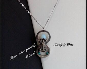 Creative jewelry pendant. Neb ânkh