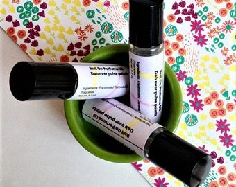 Lavender Roll-On Perfume Oil, Rollerball Perfume, Scented Body Oil, Roll On Lavender, Lavender Perfume Oil