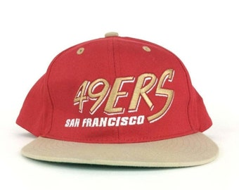 On Sale Now NFL San Francisco 49ers Baseball Cap Hat Snapback Small Adult Size