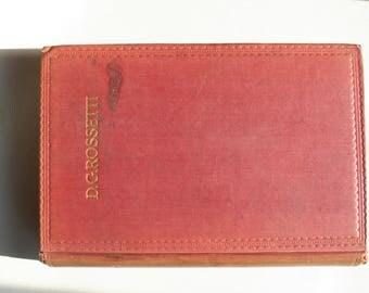Book...Poems and Translations by Dante Gabriel Rossetti ... 1913