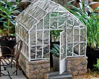 Fairy Garden  - Greenhouse - Miniature