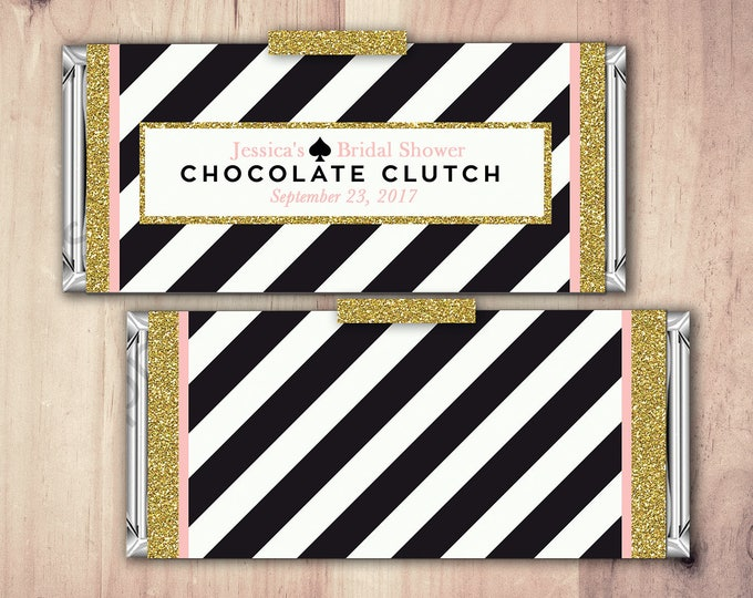 Wedding Candy Bar Wrapper Covers, Birthday Chocolate Bar Birthday Candy Wrappers - shabby Chic- 40th, 21st, 30th, 50th, 60th, 70th, 1st,