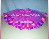 Custom Cheshire Cat tutu with additional layers