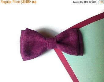 15% off best friend birthday gift for best friend red violet bow tie linen bow tie linen tie linen pocket square linen self tie linen men's