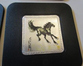 CHINA HORSE COASTERS