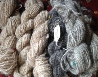 Custom handspun pet fur handspinning 'chiengora' yarn service from YOUR pet, rabbit, dog, cat fluff