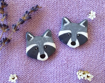 Raccoon Pin