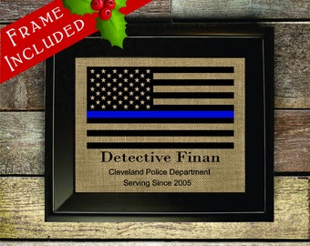 Police Graduation Gift, Police Officer, Police Gift, police, Gift for Police, Police Academy, Law enforcement, Thin Blue Lin (pol323-1)