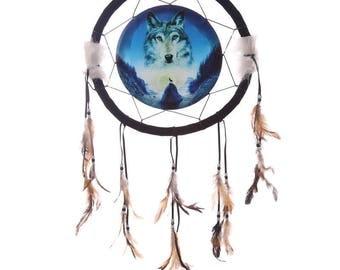 Dream catcher, dreamcatcher, Wolf, cosmic Wolf