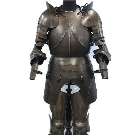 Larp Armor, Medieval German armour set