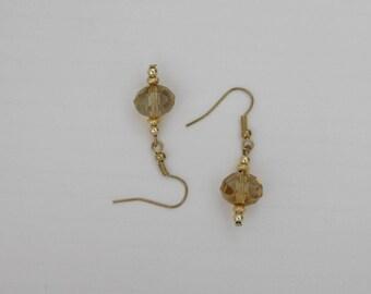 Topaz Bead Earrings