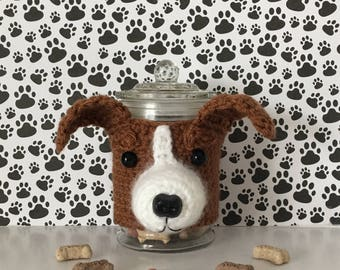 Jack Russell - Dog Breeder - Dog Trainer - Animal Rescuer - Gifts for Dog People - Doggy Mom - JRT -  Dog Treat Jar - Crazy Dog Lady