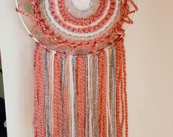 Handmade weaving dreamcatcher