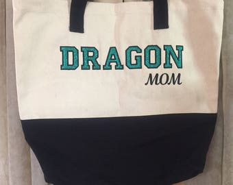Custom embroidered Tote