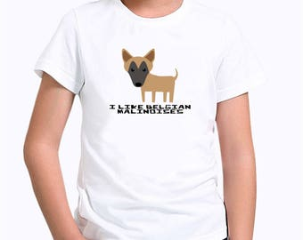 I like Belgian Malinoises Children T-Shirt