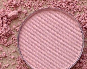 Petal Pink Matte Vegan Pressed Eyeshadow or Blush