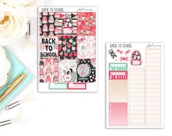 Back To School | Fall Planner Sticker Mini Kit