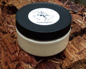Organic and Essential Oil Goat Milk Body Butter, 8 oz Jar