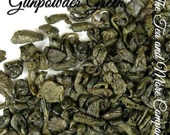 Gunpowder Green Tea... Loose Leaf Tea, Green Tea, Kosher, Gift, Daily