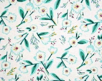 Mint Julep Floral / custom fabric