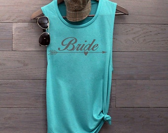 Bride tank, bride shirt, wedding tank, bride to be, bachelorette tank, married life, wedding party, future mrs, wedding, plus size