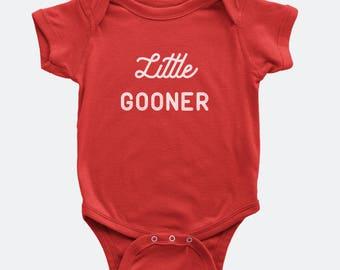 Little Gooner - Arsenal FC Inspired Onesie for Babies / Infants - Premier League
