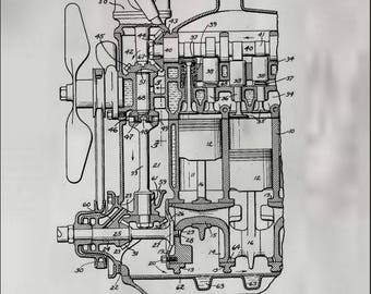 Ford Engine Patent # 1,993,992 dated March 12, 1935.