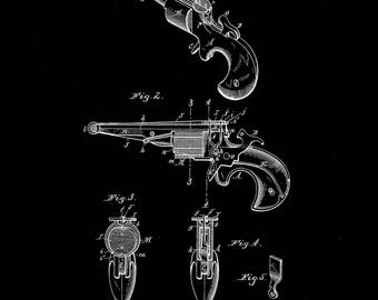 Monaghan Spring Gun Patent #498070 dated May 23, 1893.