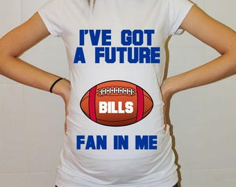 Bills Future Fan Buffalo Bills Baby Shirt Baby Boy Baby Girl Maternity Shirt Football Maternity Clothing Pregnancy Shirt Baby Shower
