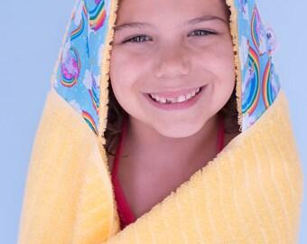 Gift for Girls - Gift for Niece - Girls Towel - Girls Birthday Gift - Hooded Towel - Towel Hoodie - Girls Towel Hoodie - Girls Hooded Towel