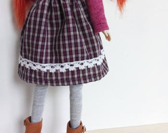 Mori skirt for any occasion for pullip blythe azone momoko obitsu and similar dolls