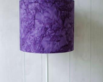 Purple Lampshade, Violet Home Decor, Purple Home Decor, Purple Bedroom,  Lampshade,