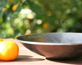 Hand Forged Iron Bowl