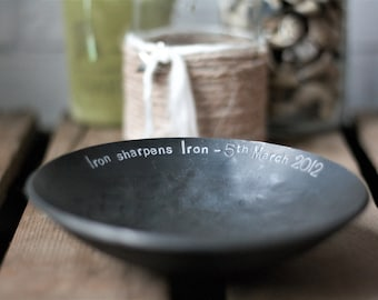 Medium Forged Iron Bowl