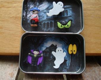 Altoids tin, Pocket toy, Halloween