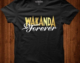 Black Panther Movie Tee, T'challa t-shirts, wakanda forever, dora milaje t-shirts