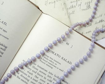 Purple Rope Necklace