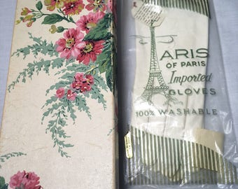 Vintage Aris of Paris Kid Gloves 7 1/2