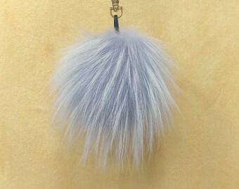 Unique Fox Fur Pom Pom, Bag Pom Pom,Fur keychain F693