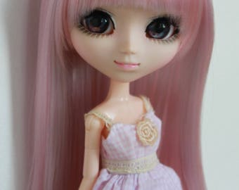 Ashes of roses Wig for Pullip doll.