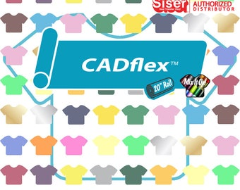 "Siser Iron On CADflex™ 20"" - Select Colors and Length *Mix It Up Available*"