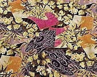 Konabay Fabrics 2011; PARA-02; Metallic; 1/2 yard woven cotton fabric