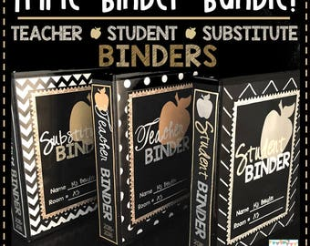Teacher Binders 2017-2018