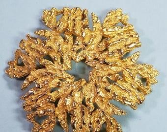 Vintage Celebrity pinwheel brooch, Pinwheel brooch, Celebrity brooch