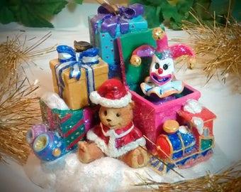 Christopher Radko Jack-in-Box Christmas Ornament Holder