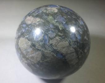 LARGE RHYOLITE Sphere Natural Stone Hand Carved Gemstone Sphere [5]