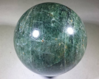 LARGE DIOPSIDE Sphere Natural Stone Hand Carved Gemstone Sphere [21]