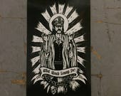What would Lemmy Do Sticker by Seven 13 Productions Motorhead Ace of Spades Iron Horse Kilmister War Pig Killed by Death