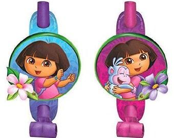 Dora the Explorer ''Flower Adventure'' Blowouts 8ct